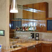 glass shelves mirrors