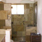 Shower enclosures glass shower doors