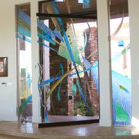 custom glass door las vegas